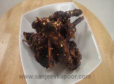 Kashmiri Lamb Chops Recipe - Lamb chops cooked the Kashmiri way.