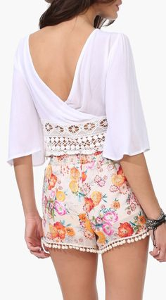 I just ordered a pair of shorts just like these only they are tangerine and ADORBS!!!!