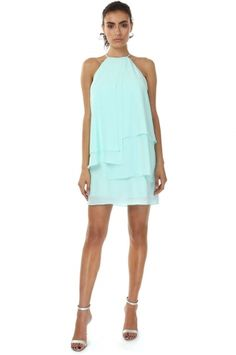 YOUNG FAIR AQUA DRESS from Jay Godfrey - Perfect for the last few days of SUMMER - Click on the picture to shop this look and use the code Z25 for 25% off your entire purchase<3