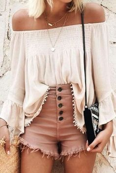 summer outfit neutral shades