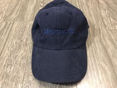 Vintage Microsoft Baseball Hat Adjustable Strap Back Used  fashion  clothing   shoes  accessories  mensaccessories  hats  ad (ebay link) bfbf60550bbd