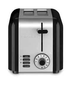 Cuisinart CPT-320 Compact Stainless 2-Slice Toaster, Brushed Stainless ** You can get additional details at the image link.