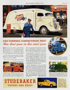 1937 Studebaker Cab-Forward Trucks and Buses