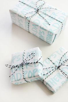 DIY gifts: free printable gift wrap for Fathers Day Diy Father's Day Gifts Easy, Diy Gifts For Dad, Father's Day Diy, Cute Gifts, Fathers Day Gifts, Gift Tags, Gift Wrapping, Wrapping Ideas, Crafts