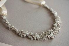 glam bridal necklace