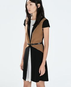 ZARA - WOMAN - DRESS WITH BELT $80