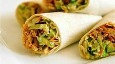Spicy Buffalo Chicken Wraps, via YouTube.