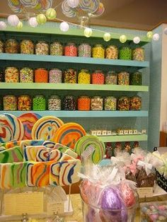 Contenedores de dulces