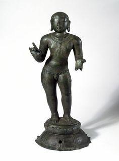 Figure. Madras, India. 11th century. Copper alloy. © Victoria and Albert Museum, London