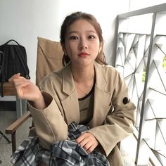 Young Actresses, Korean Actresses, Korean Actors, Military Girl, Military Jacket, Korean Celebrities, Celebs, Kdrama, Girlfriends