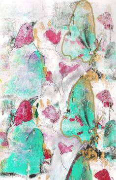 gelli Plate-Mix Media by Macridea