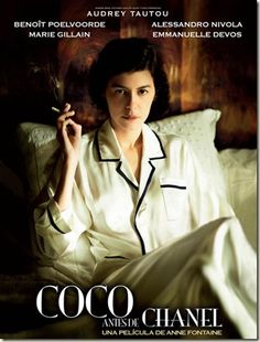Coco Channel, would like to read biography before watching movie