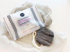 Wool Coated Soap - Bio4Natural  - Musse Ecodesign  Scopri di più su: https://www.facebook.com/Nudiovestiti/posts/586289331534887