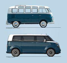 VW T1 Revival Concept