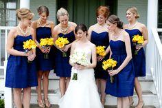 Elegant Country Chic Blue and Yellow Wedding in Virginia | Washington DC Weddings, Maryand Weddings, Virginia Weddings :: United With Love™ :: Fresh Inspiration, Ideas and Vendors
