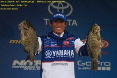 Day 1 Leader- AOY tournament-9-15-16- Takahiro Omori-26lbs-7oz.