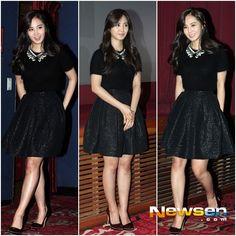 131030 SNSD Yuri No Breathing at CGV Stage Greeting in Gangnam