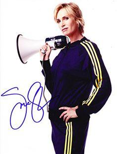 Jane Lynch Autographed Signed 8X10 Photo COA 'Glee'