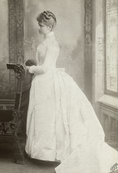 "antique-royals:  "" Princess Alix of Hesse later Empress of Russia  """