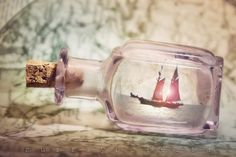 Ship in a Bottle, Photograph, Art, Nautical, Sailing, Ship Pictures, Print, 8x12, Murray Bolesta on Etsy, $70.87