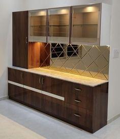 Cupboard Design, Pantry Design, Kitchen Design Open, Interior Design Kitchen, Crockery Units, Dining Room Furniture Design, Living Room Tv Unit Designs, Coimbatore, Home Room Design