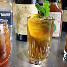 3 Gin & Tonic Alternatives...Amontillado Sherry, Orange Bitters & Tonic