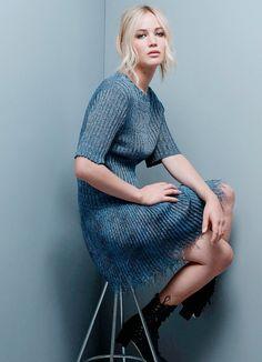 "elzabetholsens: "" Jennifer Lawrence Photographed by Jean-Baptiste Mondino for ELLE France """