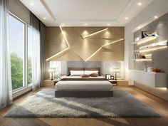 Camera da letto beige 02