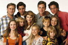 The cast of Full House - Then and Now (Still love this show to this day!!) :)