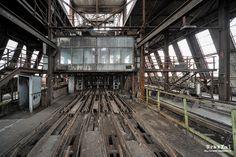 Mina de carvão Beringen | Bélgica | Construída em 1901 e abandonada desde 1989