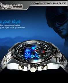 Men's Clock Fashion Waterproof Watches