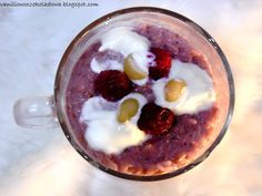 Słodko i wytrawnie. : Malinowy Ryż na mleku ( z orzechami macadamia)