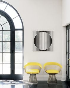 Douglas friedman yellow interior interior design architecture