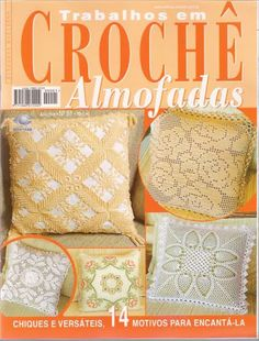 Croche Almofadas - Eliene Tavares - Album Web Picasa
