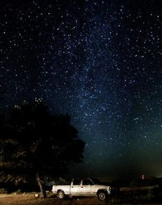 Have a friend with a truck? Get out of town and go stargazing! Check out the link below for the best parks to see the stars from!