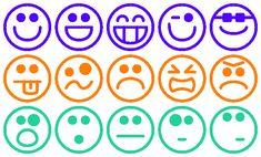 De leerlingen geven met smileys aan hoe ze een dag, uur, activiteit of periode…