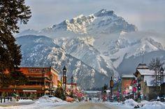 Banff Avenue in winter  (44920489)