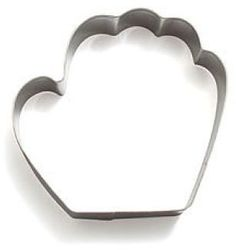 Sur La Table Baseball Mitt Cookie Cutter, 4""