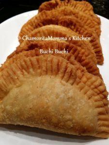 Buchi Buchi but use dough to make with papaya filling