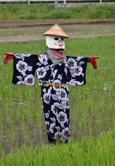 Japanese Scarecrow Karamas Islands.