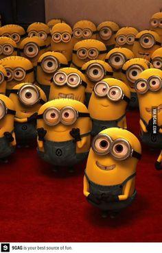 Minions, minions everywhere!