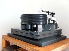 Nottingham Analogue Hyperspace turntable. #recordplayer #turntable #audio #music http://www.pinterest.com/TheHitman14/the-record-player-%2B/