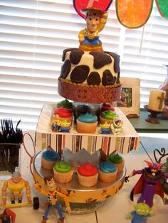 Toy Story Cupcake Tower!