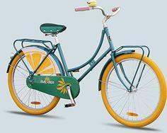brand decals on a dutch bike