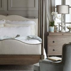 Poster Bed with Metal Canopy | Bernhardt