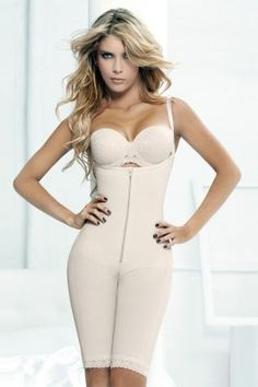 a46c1bfe00399 SCULPTING COLLECTION-BODY SHAPER LONG PANT WITH ZIP Full Body Shaper