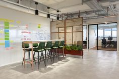 T+R studio completed the offices design for Allot, a multinational network security provider, located in Hod Hasharon, Israel. Allot, a global provider of External Lighting, Office Workstations, Glass Room, Office Environment, Soft Seating, Glass Design, Innovation Design, Architecture, Second Floor