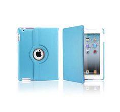 iPad Rotatable Case in Light Blue