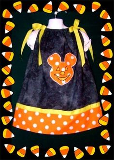 Halloween Mickey Mouse Dress 4-5 Girls Custom Boutique NEW & Matching Hair Bow -DISNEY COUTURE. A GREAT IDEA FOR A DISNEY HALLOWEEN TRIP. THIS IS FOR SALE NOW ON EBAY. SEARCH EBAY FOR ITEM NUMBER 200962460778