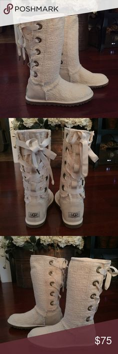 f22bde360ec release date ugg tall lace up boots ddf88 8b562